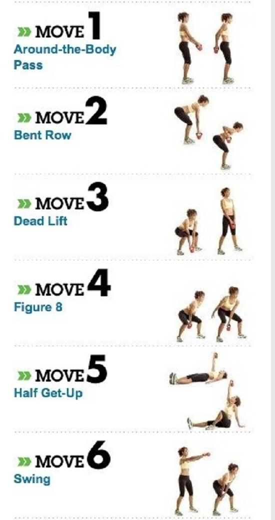 week workout program to burn fat shape
