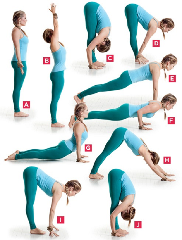 Fat Burning Yoga Sequence - InspireMyWorkout.com - A ...