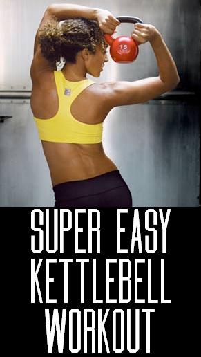 Easy Kettlebell Exercise - InspireMyWorkout.com - A ...