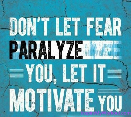 Inspirational Quotes About Fear: Motivation Fear Clothing Quotes. QuotesGram