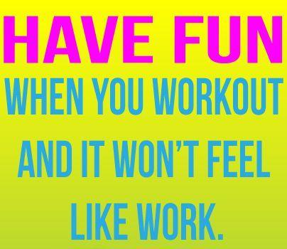 Fun Exercise Quotes. QuotesGram