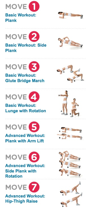 Ab Workout List